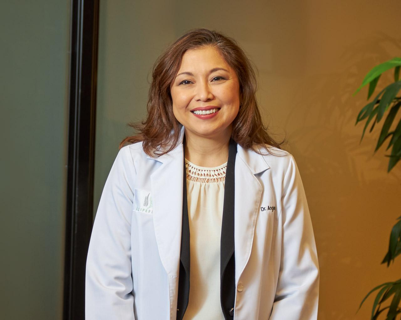 Neurosurgeon Carmina Angeles